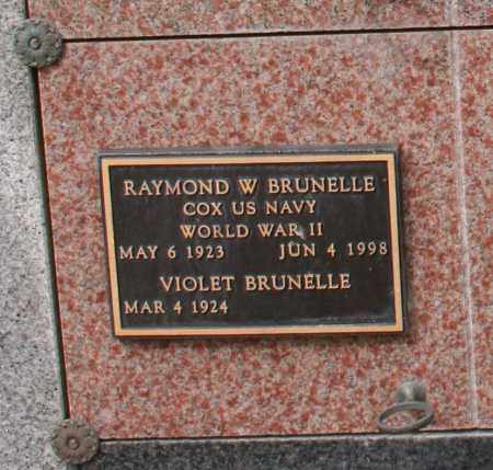 BRUNELLE, VIOLET - Maricopa County, Arizona | VIOLET BRUNELLE - Arizona Gravestone Photos