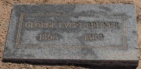 BRUNER, GEORGE EVERT - Maricopa County, Arizona | GEORGE EVERT BRUNER - Arizona Gravestone Photos