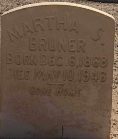 PARKMAN BRUNER, MARTHA SUSAN - Maricopa County, Arizona | MARTHA SUSAN PARKMAN BRUNER - Arizona Gravestone Photos