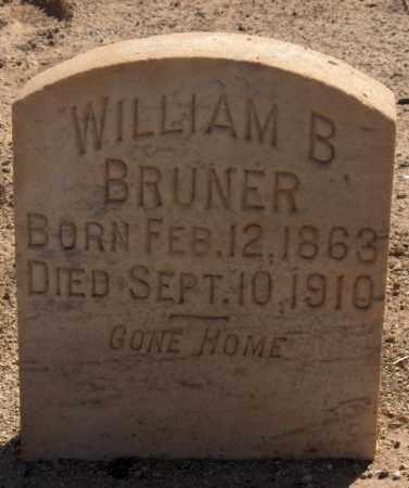 BRUNER, WILLIAM B. - Maricopa County, Arizona | WILLIAM B. BRUNER - Arizona Gravestone Photos