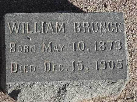 BRUNK, WILLIAM - Maricopa County, Arizona | WILLIAM BRUNK - Arizona Gravestone Photos