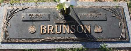 BRUNSON, JOHN MORGAN - Maricopa County, Arizona | JOHN MORGAN BRUNSON - Arizona Gravestone Photos