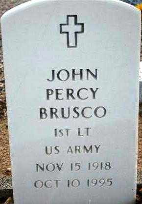 BRUSCO, JOHN PERCY - Maricopa County, Arizona | JOHN PERCY BRUSCO - Arizona Gravestone Photos