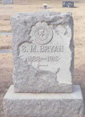 BRYAN, S. M. - Maricopa County, Arizona | S. M. BRYAN - Arizona Gravestone Photos