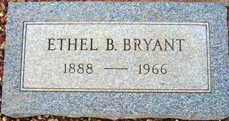 BRYANT, ETHEL B. - Maricopa County, Arizona | ETHEL B. BRYANT - Arizona Gravestone Photos