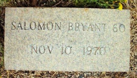 BRYANT, SALOMON - Maricopa County, Arizona   SALOMON BRYANT - Arizona Gravestone Photos