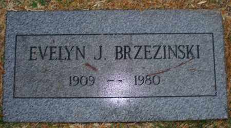 BRZEZINSKI, EVELYN J. - Maricopa County, Arizona | EVELYN J. BRZEZINSKI - Arizona Gravestone Photos