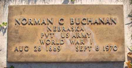 BUCHANAN, NORMAN C. - Maricopa County, Arizona | NORMAN C. BUCHANAN - Arizona Gravestone Photos