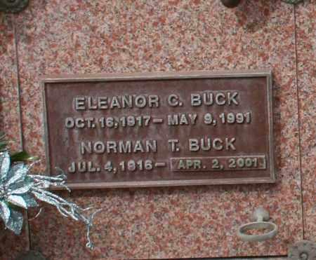 BUCK, ELEANOR C. - Maricopa County, Arizona | ELEANOR C. BUCK - Arizona Gravestone Photos