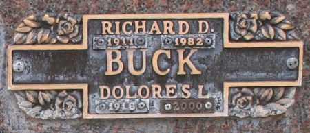 BUCK, DOLORES L - Maricopa County, Arizona | DOLORES L BUCK - Arizona Gravestone Photos