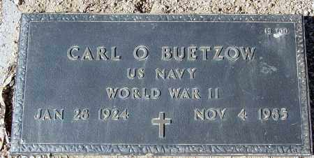 BUETZOW, CARL O. - Maricopa County, Arizona | CARL O. BUETZOW - Arizona Gravestone Photos