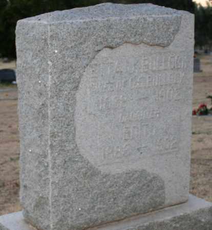 BULLOCK, EDITH - Maricopa County, Arizona | EDITH BULLOCK - Arizona Gravestone Photos