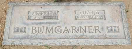 BUMGARNER, FRANK H. - Maricopa County, Arizona | FRANK H. BUMGARNER - Arizona Gravestone Photos