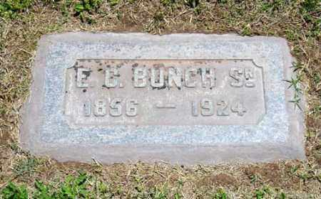 BUNCH, E. C. SR. - Maricopa County, Arizona | E. C. SR. BUNCH - Arizona Gravestone Photos
