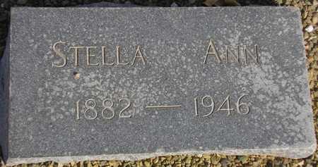 BURCHETT, STELLA ANN - Maricopa County, Arizona | STELLA ANN BURCHETT - Arizona Gravestone Photos