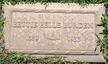 BURDEN, BETTIE BELLE - Maricopa County, Arizona | BETTIE BELLE BURDEN - Arizona Gravestone Photos