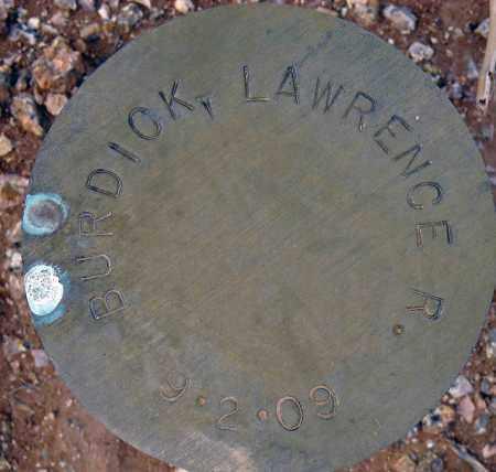BURDICK, LAWRENCE R. - Maricopa County, Arizona | LAWRENCE R. BURDICK - Arizona Gravestone Photos