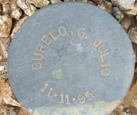 BURELO, G. JULIO - Maricopa County, Arizona | G. JULIO BURELO - Arizona Gravestone Photos