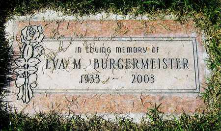 BURGERMEISTER, EVA M. - Maricopa County, Arizona   EVA M. BURGERMEISTER - Arizona Gravestone Photos