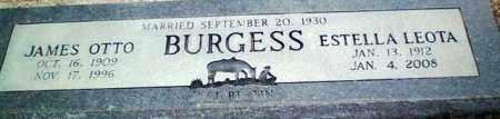 BURGESS, JAMES OTTO - Maricopa County, Arizona   JAMES OTTO BURGESS - Arizona Gravestone Photos