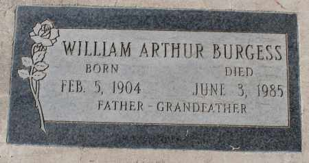 BURGESS, WILLIAM ARTHUR - Maricopa County, Arizona | WILLIAM ARTHUR BURGESS - Arizona Gravestone Photos