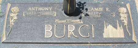 BURGI, CAMIE R. - Maricopa County, Arizona | CAMIE R. BURGI - Arizona Gravestone Photos