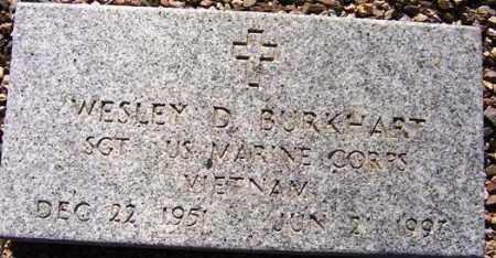 BURKHART, WESLEY D. (STONEY) - Maricopa County, Arizona | WESLEY D. (STONEY) BURKHART - Arizona Gravestone Photos