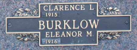 BURKLOW, ELEANOR M - Maricopa County, Arizona | ELEANOR M BURKLOW - Arizona Gravestone Photos