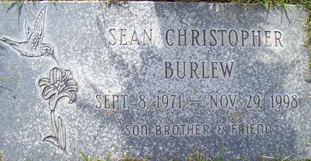 BURLEW, SEAN CHRISTOPHER - Maricopa County, Arizona | SEAN CHRISTOPHER BURLEW - Arizona Gravestone Photos