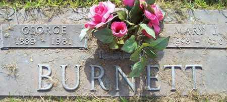 BURNETT, GEORGE - Maricopa County, Arizona | GEORGE BURNETT - Arizona Gravestone Photos