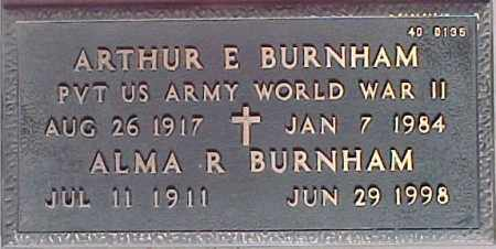 BURNHAM, ARTHUR E. - Maricopa County, Arizona | ARTHUR E. BURNHAM - Arizona Gravestone Photos