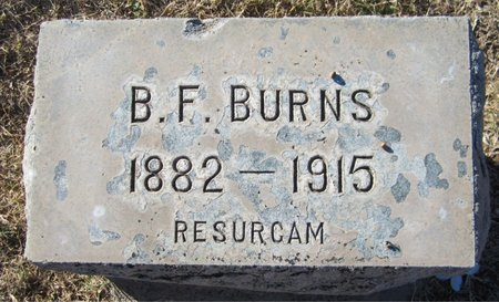 BURNS, B. F. - Maricopa County, Arizona | B. F. BURNS - Arizona Gravestone Photos