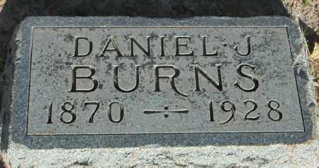 BURNS, DANIEL J. - Maricopa County, Arizona | DANIEL J. BURNS - Arizona Gravestone Photos