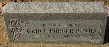 BURNS, GRACE PARKER - Maricopa County, Arizona | GRACE PARKER BURNS - Arizona Gravestone Photos