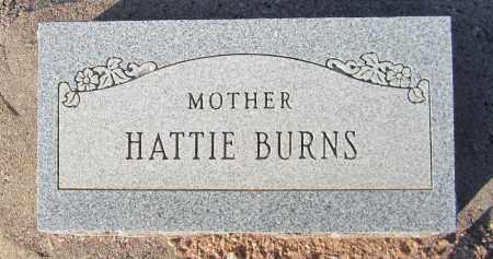 BURNS, HATTIE - Maricopa County, Arizona | HATTIE BURNS - Arizona Gravestone Photos