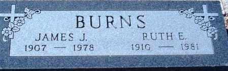 BURNS, JAMES J. - Maricopa County, Arizona | JAMES J. BURNS - Arizona Gravestone Photos