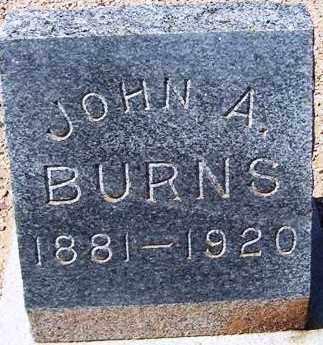 BURNS, JOHN A. - Maricopa County, Arizona | JOHN A. BURNS - Arizona Gravestone Photos