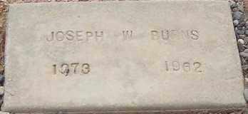 BURNS, JOSEPH W. - Maricopa County, Arizona | JOSEPH W. BURNS - Arizona Gravestone Photos