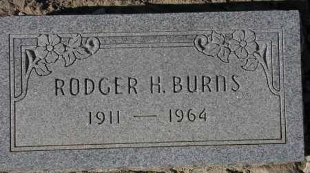 BURNS, RODGER H. - Maricopa County, Arizona   RODGER H. BURNS - Arizona Gravestone Photos