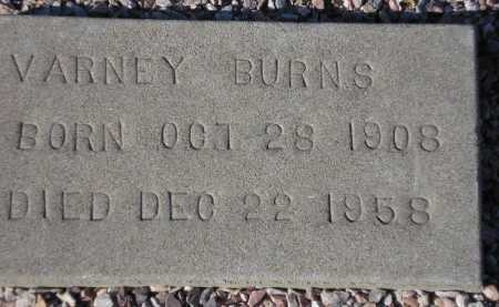 BURNS, VARNEY - Maricopa County, Arizona | VARNEY BURNS - Arizona Gravestone Photos