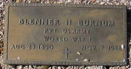 BURNUM, BLENNER H. - Maricopa County, Arizona | BLENNER H. BURNUM - Arizona Gravestone Photos