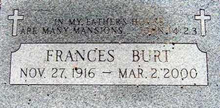 BURT, FRANCES - Maricopa County, Arizona | FRANCES BURT - Arizona Gravestone Photos
