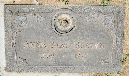 BURTON, ANNA MAE - Maricopa County, Arizona | ANNA MAE BURTON - Arizona Gravestone Photos