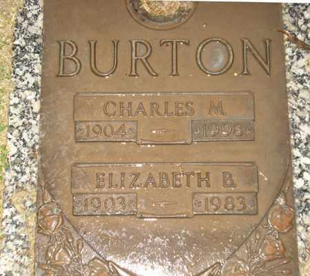 BURTON, ELIZABETH B. - Maricopa County, Arizona   ELIZABETH B. BURTON - Arizona Gravestone Photos