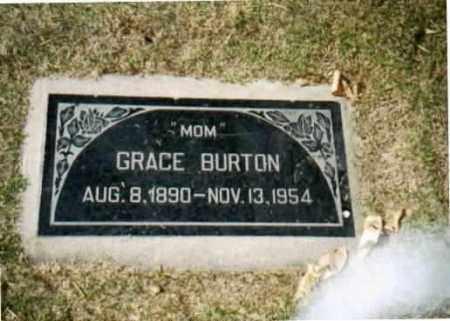 HUNSAKER BURTON, GRACE - Maricopa County, Arizona | GRACE HUNSAKER BURTON - Arizona Gravestone Photos
