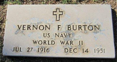 BURTON, VERNON F. - Maricopa County, Arizona | VERNON F. BURTON - Arizona Gravestone Photos