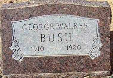 BUSH, GEORGE WALKER - Maricopa County, Arizona | GEORGE WALKER BUSH - Arizona Gravestone Photos