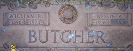 BUTCHER, WILLIAM R. - Maricopa County, Arizona | WILLIAM R. BUTCHER - Arizona Gravestone Photos
