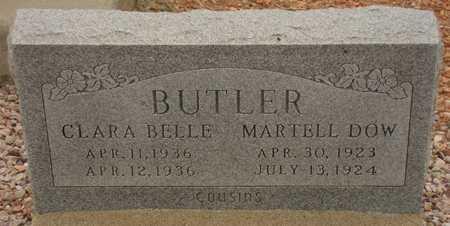 BUTLER, MARTELL DOW - Maricopa County, Arizona | MARTELL DOW BUTLER - Arizona Gravestone Photos