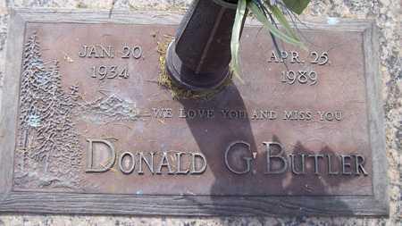 BUTLER, DONALD G. - Maricopa County, Arizona | DONALD G. BUTLER - Arizona Gravestone Photos